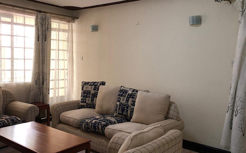 Furnished 2 bedroom apartment along Naivasha road